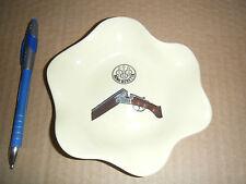 Piattino bar posacenere armi Beretta caccia periodo carosello anni '50/60