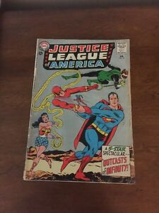Justice-League-of-America-25-1-8-Good-Gd-Cover-Detached-See-Photos