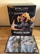 "Sword Coast Legends Belaphoss Statue 12"" Demon Dungeons & Dragons Universe + Map"