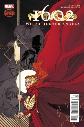 1602 WITCH HUNTER ANGELA #2 125 IRENE KOH VARIANT COVER NM OR BETTER