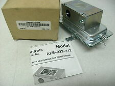 CLEVELAND CONTROLS AFS-222-112AIR PRESSURE SENSING SWITCH ADJUSTABLE