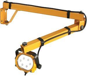 atd saber swing arm 16 watt led work light w wall mount water resistant 80417 ebay. Black Bedroom Furniture Sets. Home Design Ideas