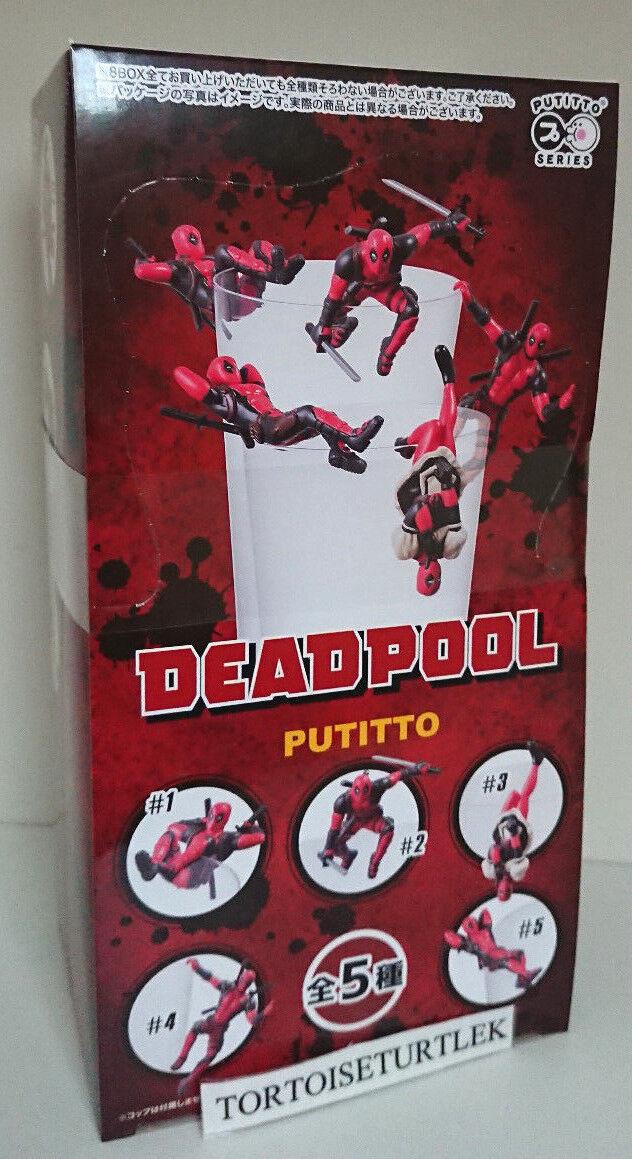 PUTITTO Marvel Deadpool Figure 1BOX SET 8 pcs all 5 types