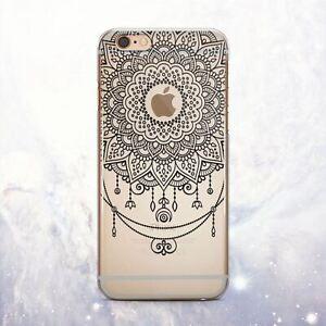 Dettagli su Boho mandala Morbido Silicone iPhone 12 11 XR Custodia Cover Posteriore iPhone SE 6 7 8 x XS- mostra il titolo originale