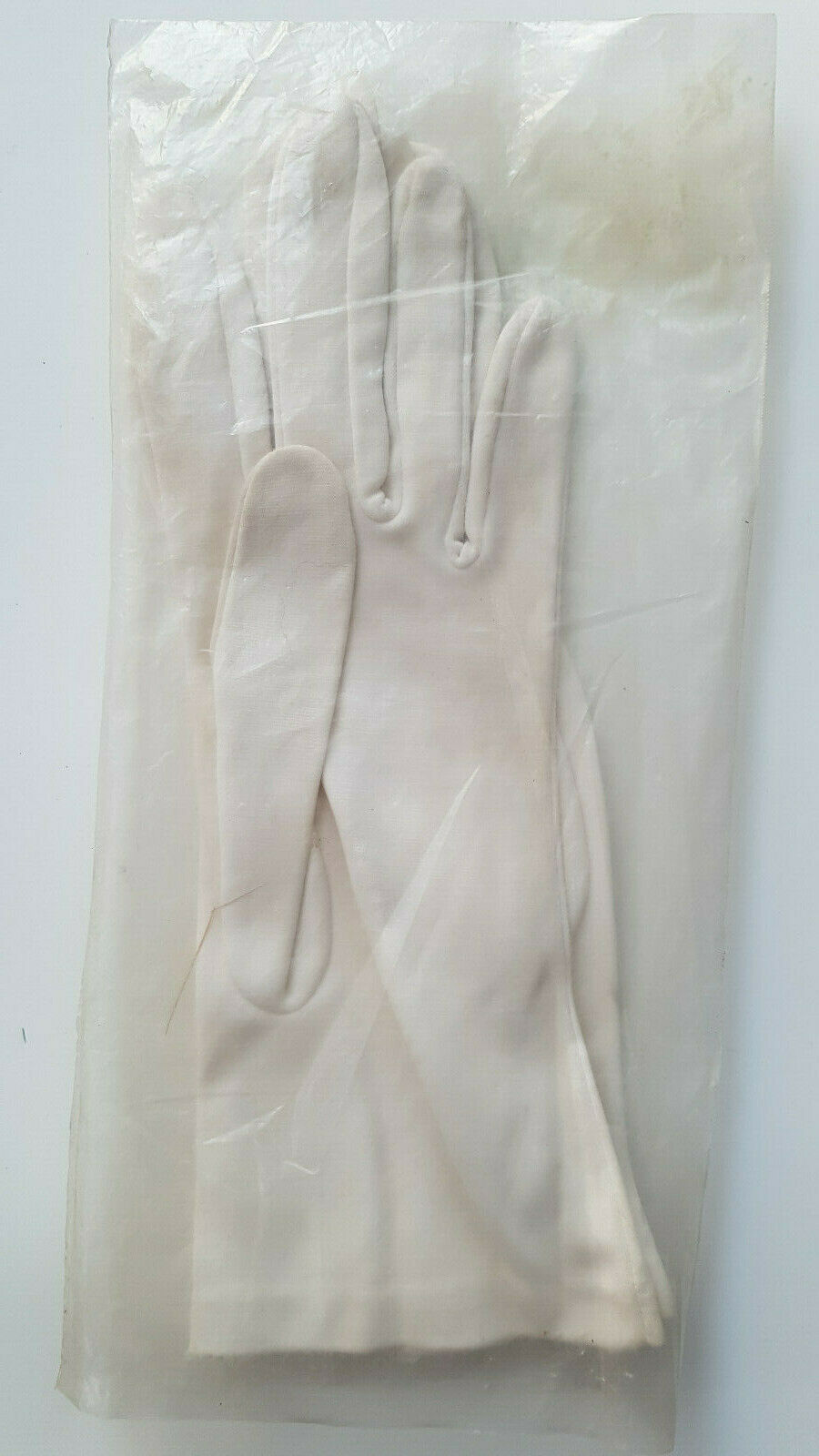 ✔ Gands blanc polyester Taille 7 neufs