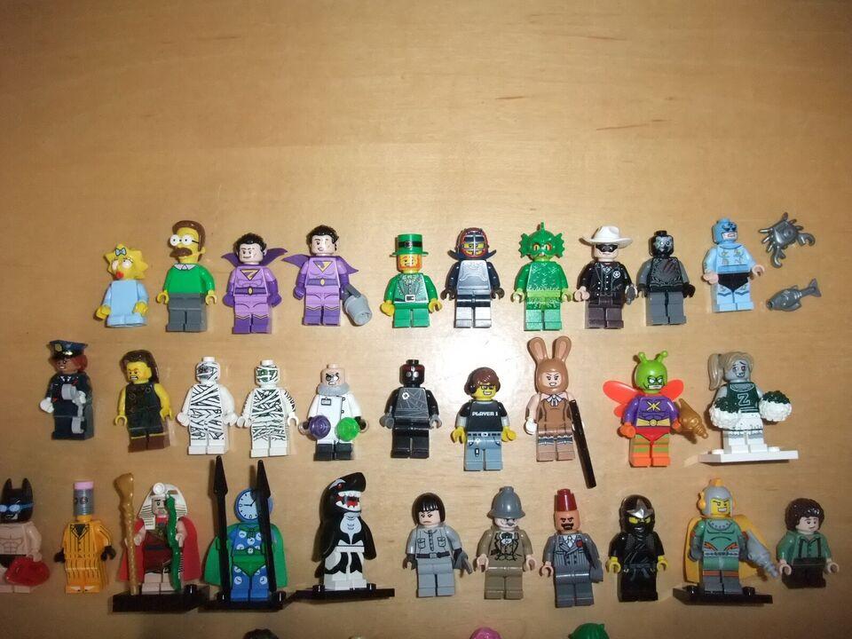 Lego Minifigures, Lego Minifigurer Diverse Serier+Movie