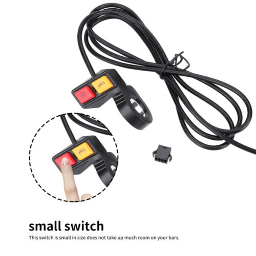 2-in-1 Head Light Horn Turn Signal Switch Button for Motorcycle E-Bike Scooter