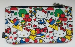Image is loading Loungefly-Hello-Kitty-Sanrio-Pencil-Case-Pouch-Apples- a3675098e853d
