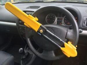 car steering wheel lock security small van hook crook style adjustable FITS ALL