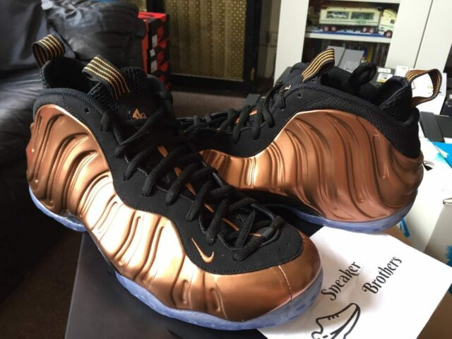los angeles 895b3 dea85 Nike Air Foamposite One OG Copper Black Metallic Bronze 314996-007 Silver  Surfer