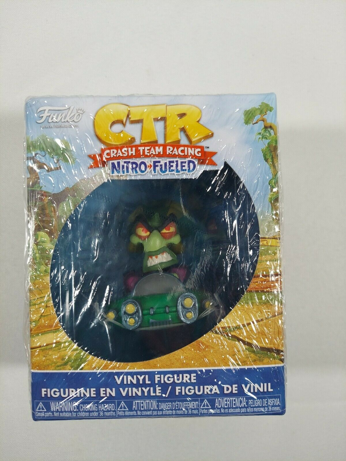 CTR Crash Team Racing Mystery Mini Vinyl Figure Nitros Oxide Rare Brand New