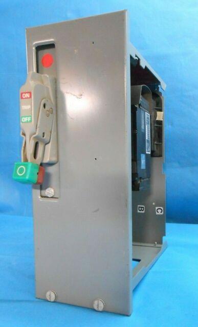 """Square D Model 6 MCC Feeder Bucket 6/"""" 40amp"""