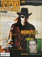 PSYCHO 51 2001 Moonspell Henry Rollins Garbage Quireboys Taproot Cradle Of Filth