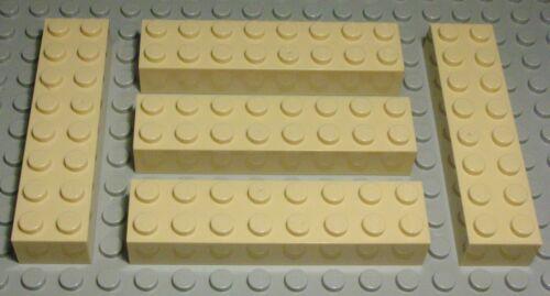 1377 Lego Stein 2x8 Beige 5 Stück