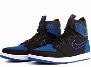 NIKE AIR JORDAN 1 VARSITY ROYAL RETRO ULTRA HIGH Blue Black Shoes ... 4b1bb5851e