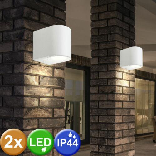 Muro esterno LED Lampada Spot Faretti Illuminazione RGB Telecomando Lampada dimmerabile