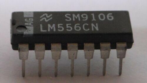 Two LM556 Dual Timer ICs National Semiconductor