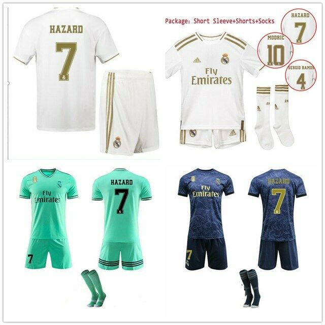 pretty nice e9a3f 46ecb 19/20 Soccer Football Kits Soccer Jersey Shirt Adult Kids Uniform Suit  +Socks