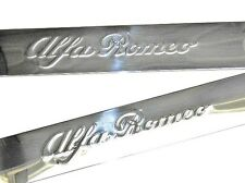 Alfa Romeo 916 GTV & Spider Stainless Steel Sill Kick Trims Pair Genuine 5901294