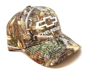 89ec2b7e5d1 Image is loading CHEVROLET-CHEVY-REALTREE-EDGE-CAMO-CAMOUFLAGE-ADJUSTABLE- HAT-