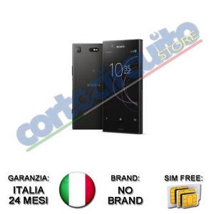 SONY-XPERIA-XZ1-COMPACT-BLACK-4-6-034-32GB-RAM-4GB-4G-LTE-NO-BRAND-GARANZIA-ITALIA
