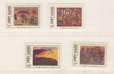 Viet nam  -  1988   Quadri di bambini   4  val  ** MNH