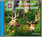 WAS IST WAS Hörspiel-CD: Wilde Wälder/ Lebendiger Boden von Baur Manfred (2015)