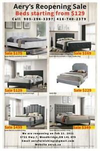 Beds on Sale, Bedroom Couches, Sectionals, Couches, Dining Set call us at 416-743-7700 / 416-740-2379 Toronto (GTA) Preview