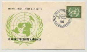 Bund Nr. 221 auf Ersttagsbrief / FDC, Schmuckbrief (35065)