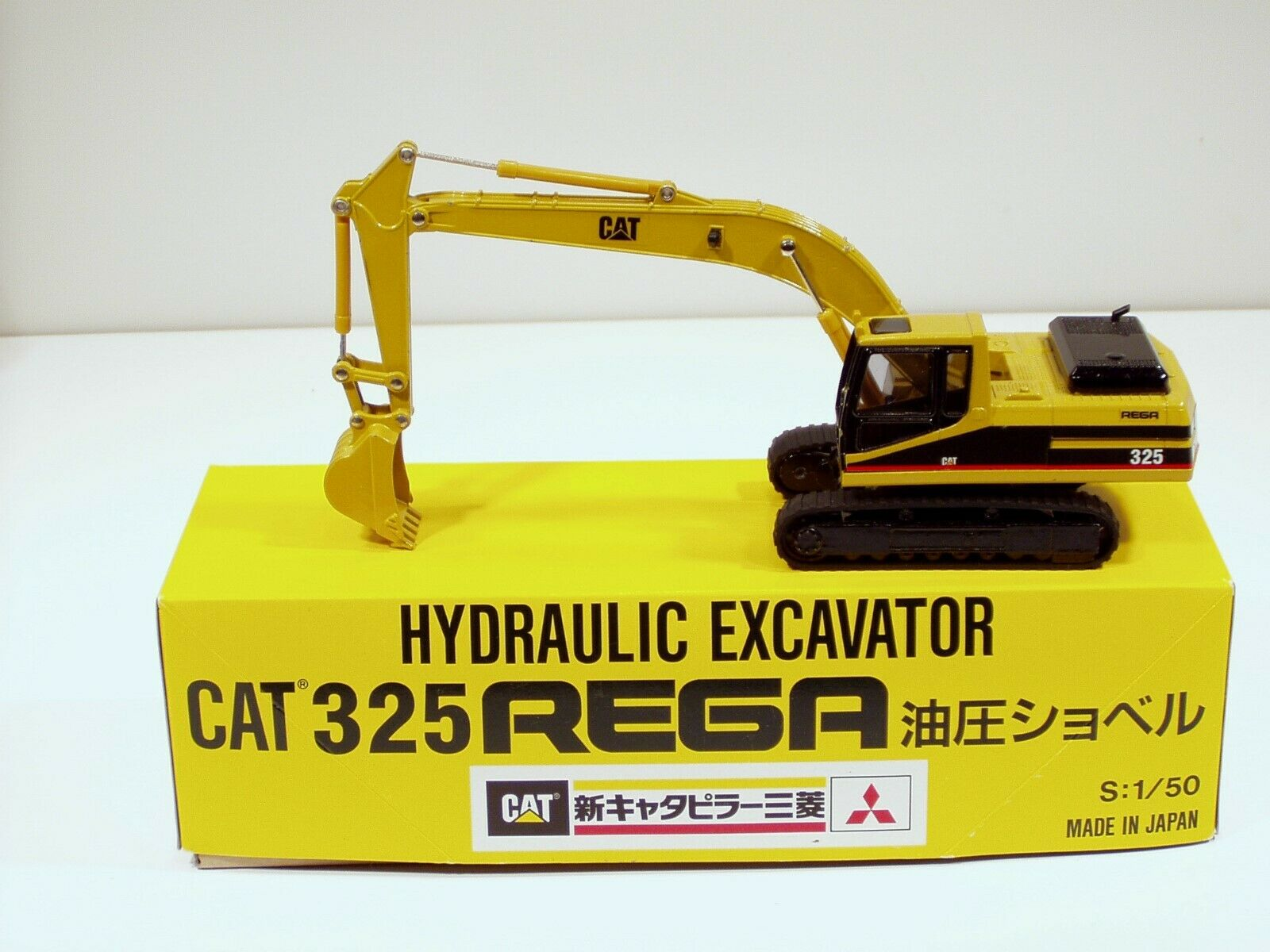 Caterpillar 325  rega Excavateur - 1 50 - Shinsei  606 - Comme neuf IN BOX  pas cher en ligne