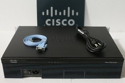 IOS 15.7 CISCO1921-SEC//K9 Cisco 1921 2-Port Gigabit Router w// SEC License