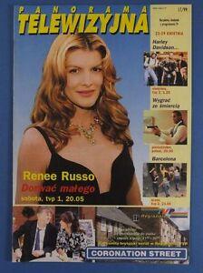 RENEE RUSSO mag.FRONT cover 1999 Kevin Costner,Sophie Marceau,Hanna Banaszak - europe, Polska - Zwroty są przyjmowane - europe, Polska