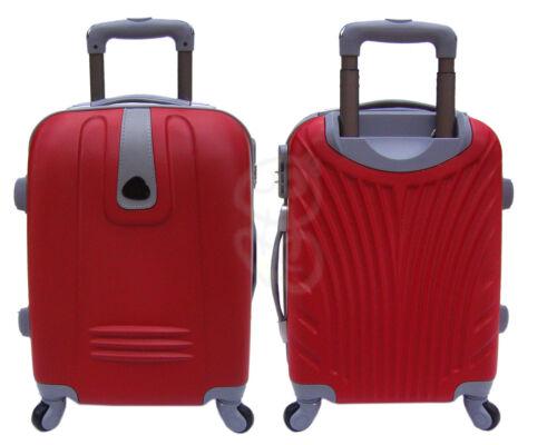 bagaglio a mano trolley rigido abs con 4 ruote e asta viaggi low cost