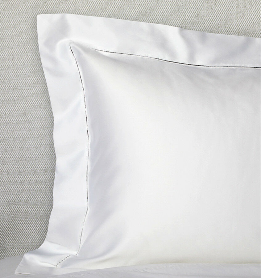 ITALY SFERRA GIOTTO COTTON SATEEN PILLOW SHAM IN SOLID ColoreeeS
