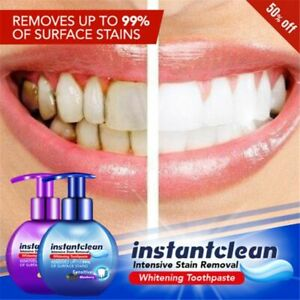 INTENSIVE STAIN REMOVEL TEETH WHITENING TOOTHPASTE FIGHT BLEEDING GUMS BLUEBERRY