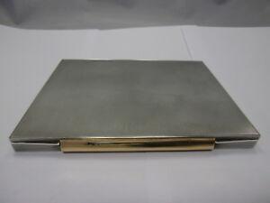 Dosen & Büchsen Art Deco Dose Karl Dluzewski Berlin Um 1930 Sterling Silber 925 Punziert Elegantes Und Robustes Paket