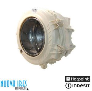 VASCA COMPLETA LAVATRICE ARISTON INDESIT ORIGINALE CESTO C00144079 C00287582