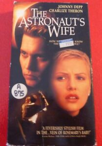 VHS-Movie-The-Astronaut-039-s-Wife-Johnny-Depp-Charlize-Theron