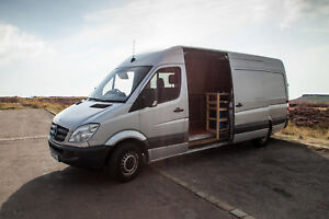 Image Is Loading Mercedes Sprinter Camper Van Conversion Priced For Quick