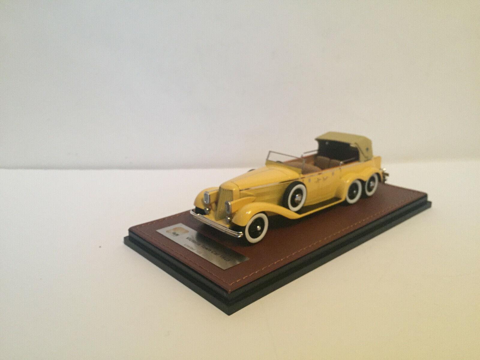 1 43 1923 Hispano-Suiza H6A Viktoria City Car Top Verkleidung Glm