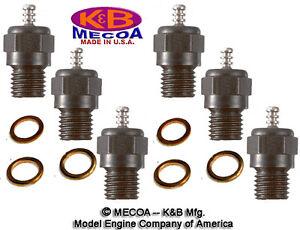 K&B 7311 LONG REACH 1L GLOW PLUG Qty of 6 --- Best Plug for your engine