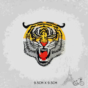 Tiger Head Patch Iron On Patch Sew On Embroidered Patch