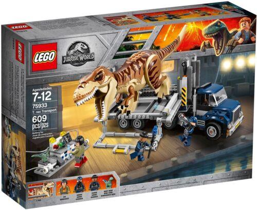 LEGO ® Jurassic World ™ 75933 T Rex transport Nouveau neuf dans sa boîte /_ NEW En parfait état dans sa boîte scellée Boîte d/'origine jamais ouverte