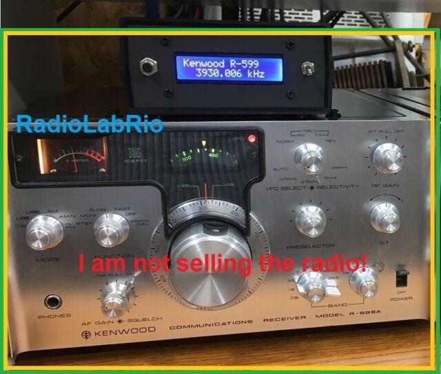 Kenwood Ssb T 599 3 5 29 7 Mhz Ham Radio Transmitter Trio Japan Power Turns On For Sale Online Ebay