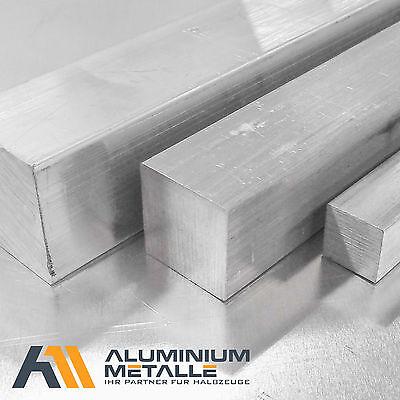30cm auf Zuschnitt L: 300mm 10x10mm Aluminium Vierkant AW-2007 AlCuMgPb