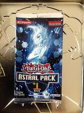 YuGiOh TCG Astral Pack 1 One! 3-Card/Pack from Factory Sealed Box Rare Mint!