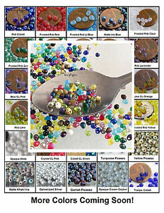 Fringe-Miyuki-Glass-Seed-Beads-10-Grams-4x3-4mm-Small-Teardrops-Choose-Color