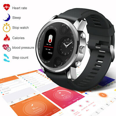 LEMFO Heart Rate Blood Pressure Smart WatchSports Pedometer For iPhone Samsung