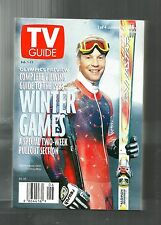 TV GUIDE-2/1998-TOMMY MOE-VIEWING GUIDE TO WINTER OLYMPICS-RARE