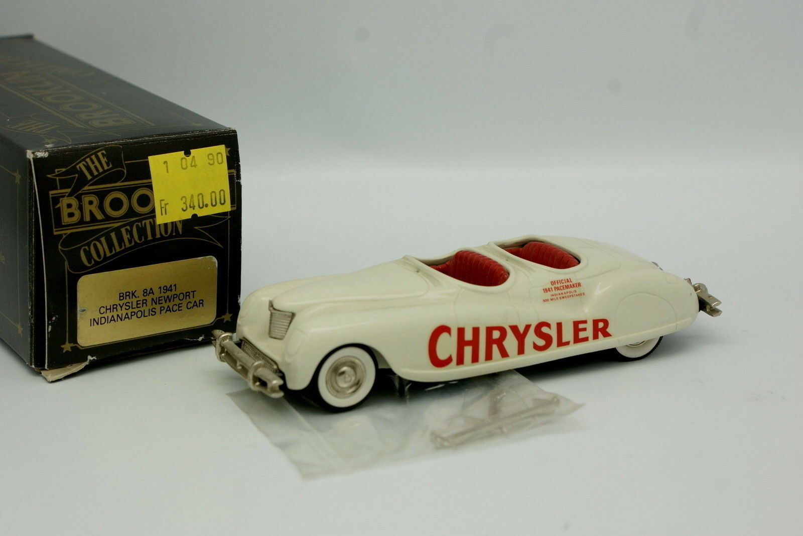 Brooklin 1 43 - Chrysler Newport Indianapolis Pace Coche